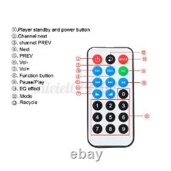 1200W LED bluetooth Stereo Power Amplifier Remote control Tuner 5CH FM SD USB