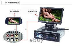 12V Car Bluetooth DVD CD Player Radio Card Host Video MP3 PlayerRemote Control
