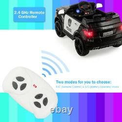12V Electric Ride On Car Kids Ride on Toy Cars with Remote Control Bluetooth Black