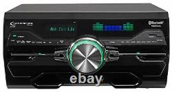 4000w Home Theater DVD Receiver withBluetooth/USB+(5) Black 6.5 Ceiling Speakers