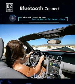 4.1 HD 1DIN Car Stereo Video MP3 MP5 Player Bluetooth FM Radio AUX USB & Camera