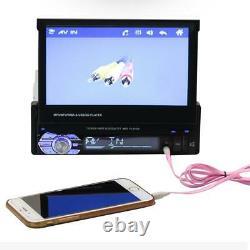 7 1 DIN Bluetooth Car Stereo MP5 MP3 Player FM Radio USB/TF/AUX +Remote Control