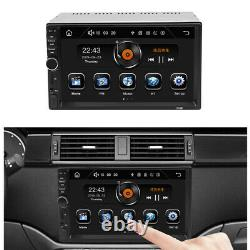 7 2DIN Car Stereo Radio MP5 Bluetooth Touch Screen Remote Control Mirror Link