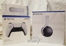 Accessory Bundle for Sony PlayStation 5 PS5Pulse 3D HeadsetRemote Controller