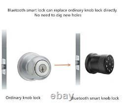 App Remote Control Card Unlock Code Door Lock Anti-theft USB Rechargeable Keypad