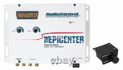 AudioControl The Epicenter White Digital Car Bass Processor+Remote Audio Control