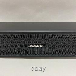 BOSE SOLO TV SPEAKER SOUND BAR SYSTEM with POWER & REMOTE CONTROL