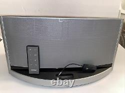 BOSE SounDeck 10 Digital System Silver Color Bluetooth Adapter Remote Control