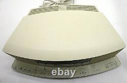 BOSE Wave Radio CD Player AWRCC-2 with Ic-1 Control Bar Sounds Great NO REMOTE
