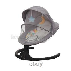 Baby Swing bluetooth Speaker Remote Control LED Bouncer Baby Infant Chair