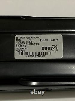 Bentley Bluetooth Handset Adapter Continental GT GTC Speed Phone Headset OEM