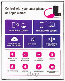 Bluetooth Remote Smart Phone Control Bullet Vibrator Stimulator LOVENSE Lush2