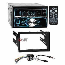 Boss CD MP3 USB Bluetooth Stereo Dash Kit Harness for 02+ VW Jetta Golf Passat