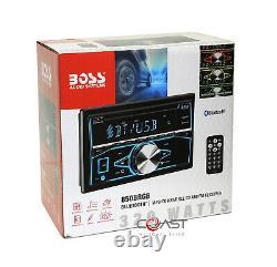 Boss CD MP3 USB Bluetooth Stereo Sil Dash Kit Harness for 04-06 Nissan Maxima