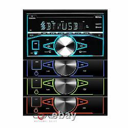 Boss CD USB MP3 Bluetooth Stereo Dash Kit Harness for 07-14 Chrysler Dodge Jeep