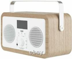 Bush Wooden Internet DAB Radio NO REMOTE CONTROL