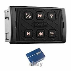 DS18 Hydro BTRC-SQ Universal Marine Bluetooth Audio Receiver with Controller