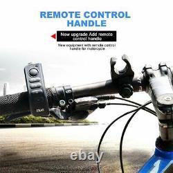 EJEAS V8 Bluetooth Intercom Motorcycle Helmet Headset with Remote Control Han
