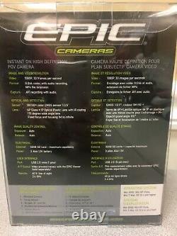EPIC Cameras Remote Control 1080P HD Instant Record, Camera/Video, NEW