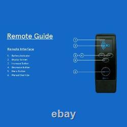 Elecbrakes Remote for Electric Bluetooth Brake Controller Trailer Caravan