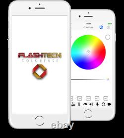 Flashtech Colorfuse Bluetooth RF Controller with remote and Colorfuse APP