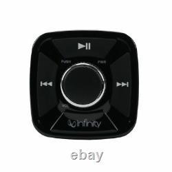 INFINITY Pre-Amp BLUETOOTH REMOTE CONTROLLER WATERPROOF ATV UTV Marine Audio Use