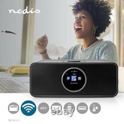 Internet Radio 42 W FM Bluetooth Remote Control Black