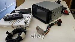 KENWOOD DNX7200 car 7 touchscreen, DAB, SatNav, Bluetooth, DVD, remote control