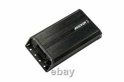 Kicker PXIBT100.2 2-Channel Full-Range Bluetooth Amplifier with Remote Controller