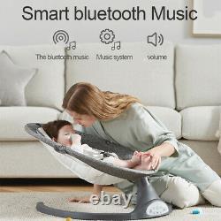 Kimbosmart 5 Speed Bluetooth Baby Swing Remote Control Rocker with Mosquitos Net