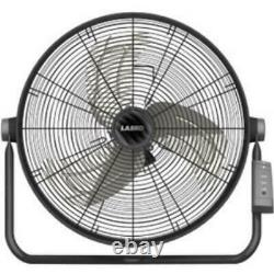 Lasko 20 High Velocity Fan With Remote Control 20 Diameter 3 Speed