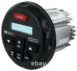 MB Quart GMR-3 Marine Receiver withBluetooth AM/FM/iPhone Control + Wired Remote