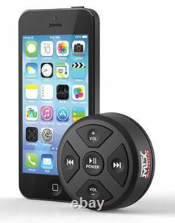 MTX MUDBTRC Universal Bluetooth Receiver and Remote Control Marine Off Road ATV