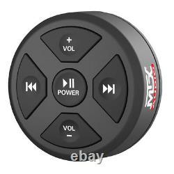MTX MUDBTRC Universal Boat Motorcycle Bluetooth Audio Receiver & Remote Control