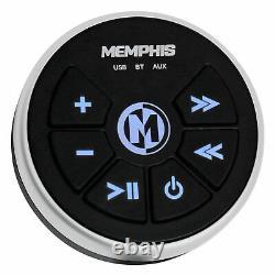 Memphis Audio MXABTRX Marine Bluetooth Controller AUX/USB For RZR/ATV/UTV/Cart