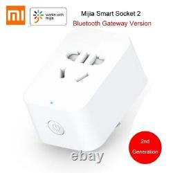 Mijia Smart Socket 2 Bluetooth Gateway Version Wireless Remote Control Sockets A