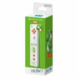 New Nintendo Wii U Remote Plus controller Yoshi Japan ver Free Shipping F/S