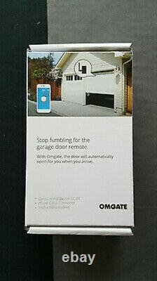 OmGate Bluetooth Remote Garage Door / Gate Opener Controller (with ANY smartphone)