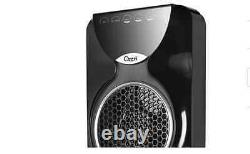 Ozeri 44 oscillating portable tower fan noise reduction with remote control