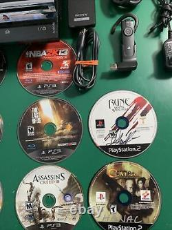 PS3 Backward Compatible CECHA01 (300gb) 25 Games/ 2 Controller/Remote/Bluetooth