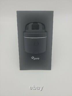 Pivo Pod Silver Fast Auto-Tracking Smartphone Bluetooth+Remote Control Cameraman