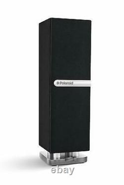 Polaroid PBT3001BK Mini Bluetooth Speaker Slim Single-Tower Remote Control Black