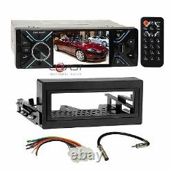 Power Acoustik 4.3 LCD USB Stereo Dash Kit Harness for 95+ GMC Chevy Cadillac