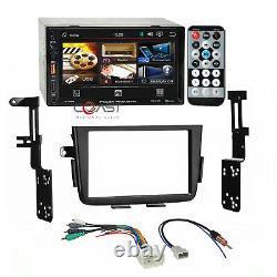 Power Acoustik 7 LCD Phonelink Stereo Dash Kit Amp Harness for 01-06 Acura MDX