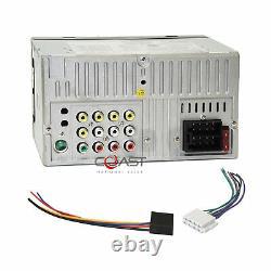 Power Acoustik 7 LCD USB Phonelink Stereo Dash Kit Harness for 02-05 Dodge Ram