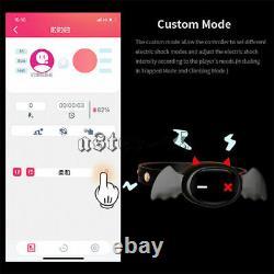 Qiui Little Devil App Remote Control Restraint Shock Collar Female Male Electric