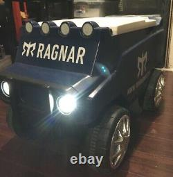 Ragnar C3 Rover Remote Control Ice Chest with Head Lights & bluetooth speakers EUC