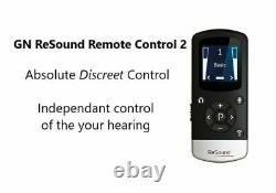 ReSound Remote Control-2 for ReSound/Beltone Hearing Aids With Charging Cable