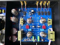 Remote Control 12AT7/12AU7 Vacuum Tube Tone Preamplifier Hifi Bluetooth Decoder