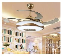 Remote Control 42Ceiling Fan Lights with Bluetooth LED Lamp BEST DEAL